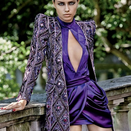 Adriana Lima by Giampaolo Sgura for Vogue Brazil October 2013