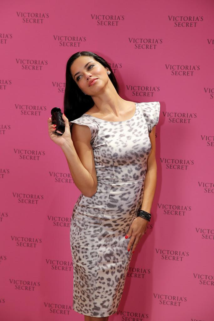 Adriana Lima for Victoria's Secret Fantasy Bra launch in Dubai December 2013