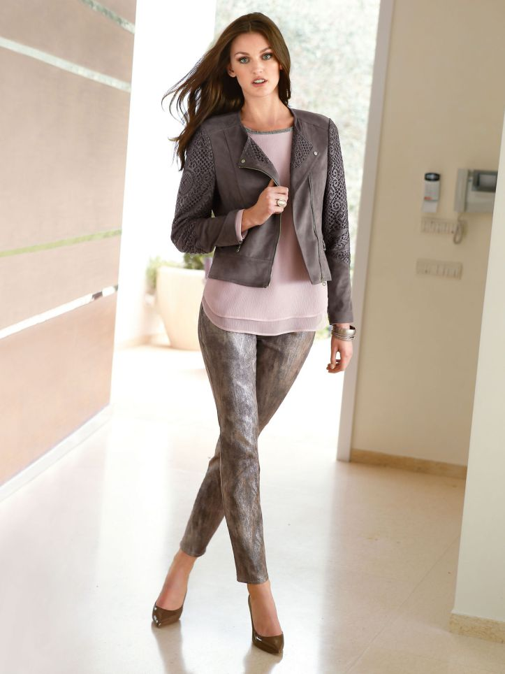 Ali Stephens for Peter Hahn Spring 2015 Collections