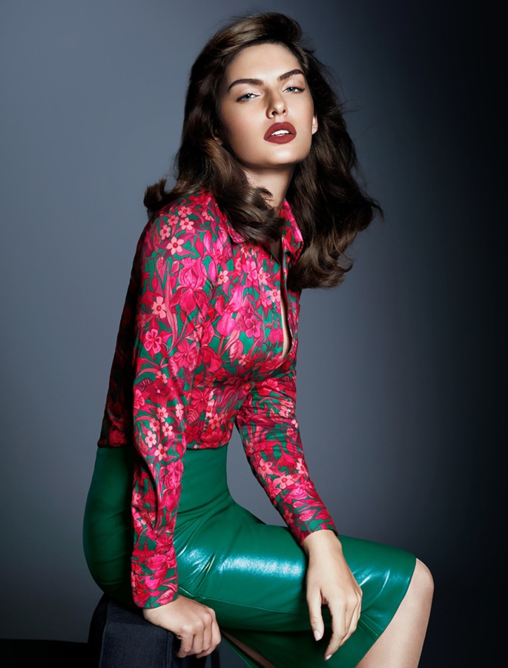 Alyssa Miller for Free People 2015 Collection (5)