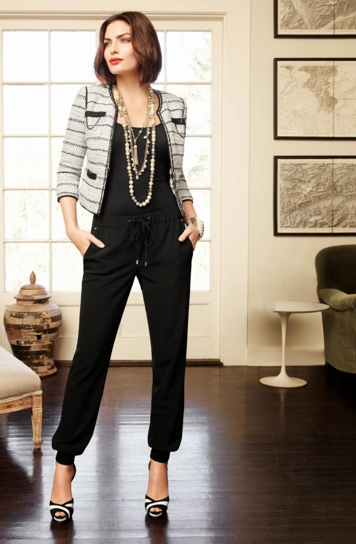 Alyssa Miller for White House Black Market Spring 2014 Colletions (11)