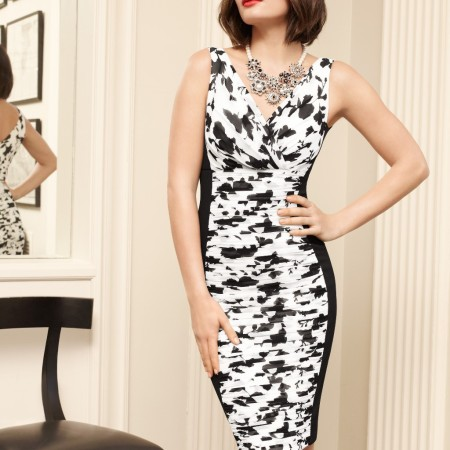 Alyssa Miller for White House Black Market Spring 2014 Collections