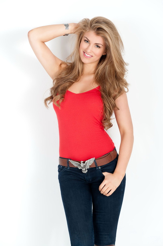 Amy Willerton for Fresh Academy photoshoot 2012 collections  (1)
