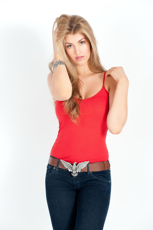 Amy Willerton for Fresh Academy photoshoot 2012 collections  (2)