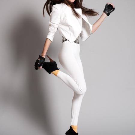 Beautiful Peruvian Model Anahi Gonzales Daly photo-shoot collections