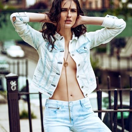 Brazilian Model-Fernanda Tavares by Lucas Fonseca in 'Brooklyn Groove'
