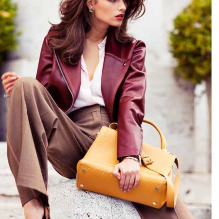 Dasha Malygina by Jacopo Moschin for F Magazine October 2013
