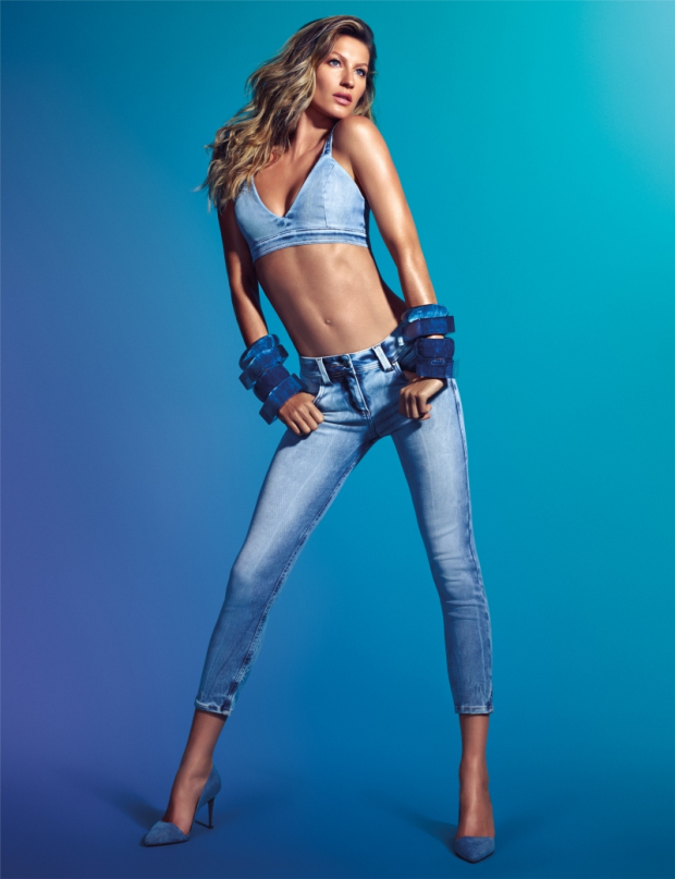 Gisele Bundchen by Zee Nunes for Colcci Jeans Fall-Winter 2014 Campaign