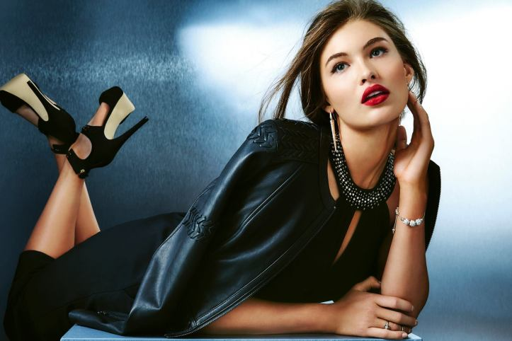 Grace Elizabeth for GUESS Holiday 2015 Collection