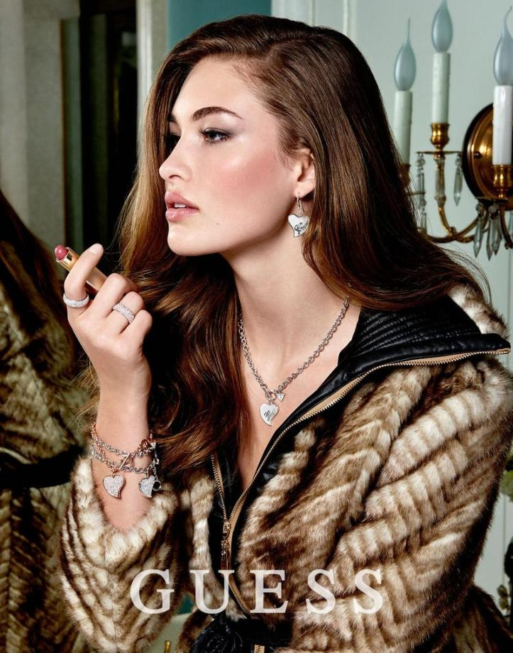 Grace Elizabeth for GUESS Jewelry Fall Winter 2015 Collection