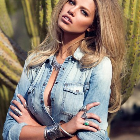 Hailey Clauson for Guess Magazine Spring-Summer 2014