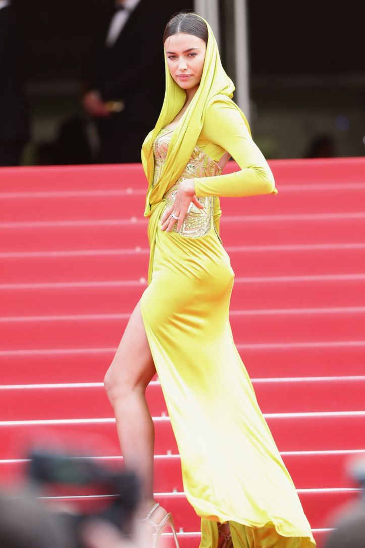 Irina Shayk at 67th Annual Cannes Film Festival in Cannes on May 21, 2014