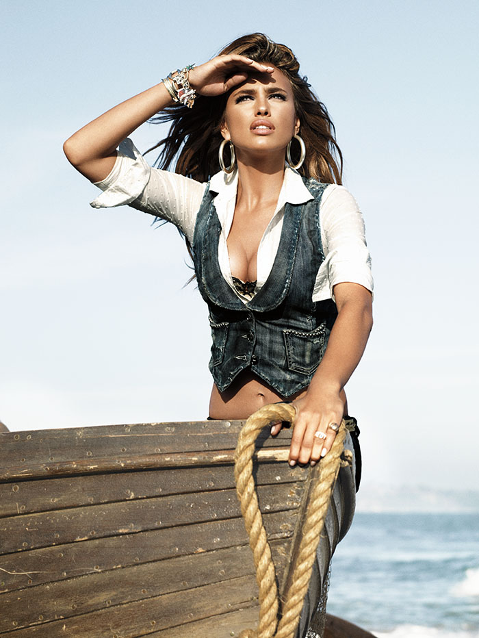 Irina Shayk for GUESS Jeans Fall Winter 2008 (3)