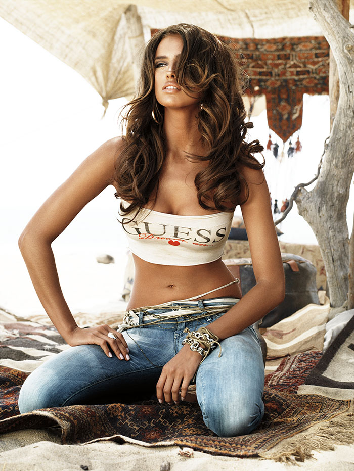 Irina Shayk for GUESS Jeans Fall Winter 2008 (8)