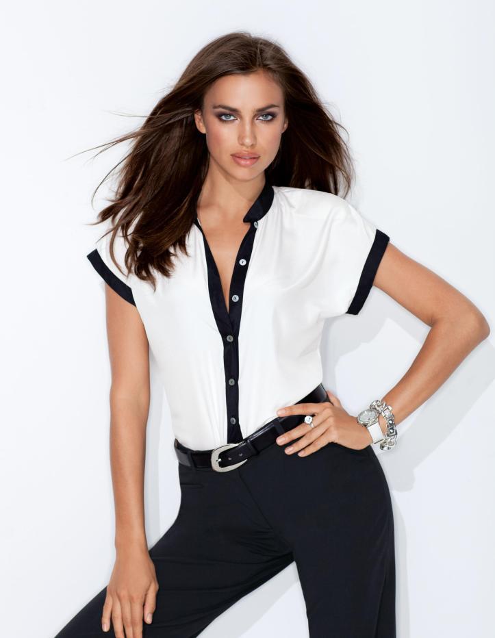 Irina Shayk for Madeleine 2013 Spring Summer Outfits (6)