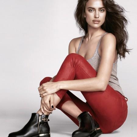 Irina Shayk for Xti Footwear Fall-Winter 2015-2016 Campaign
