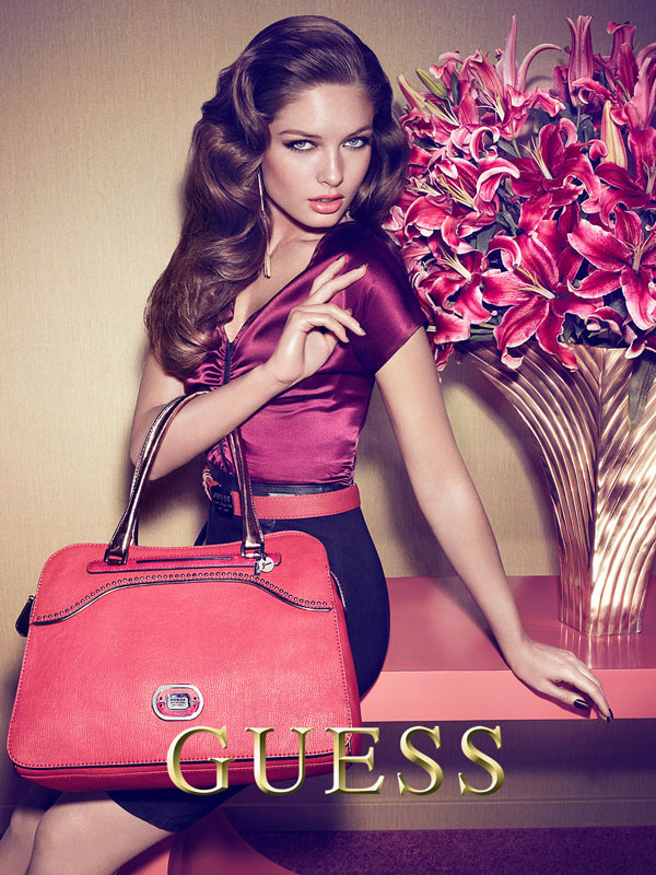 Juliana Imai and Sandrah Hellberg for Guess Accessories Fall 2012
