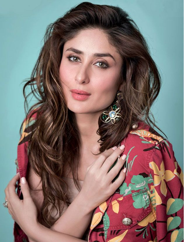 Kareena Kapoor Braces The Cover Page Of Elle Magazine February 2016 Issue (1)