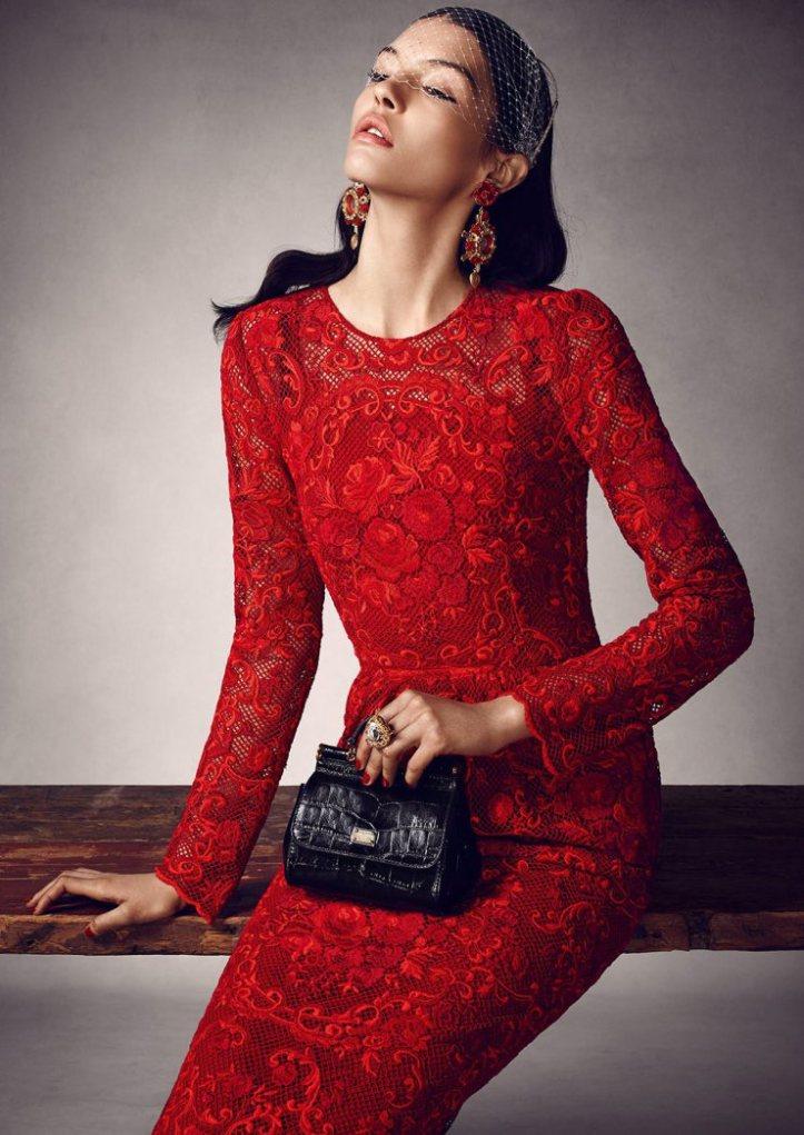 Kate Bogucharskaia by Tony Kim for Vogue Mexico March 2015