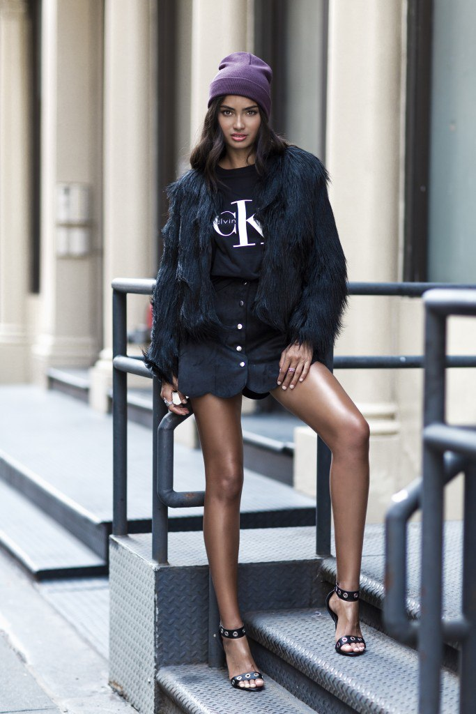Kelly Gale for Nelly's Fall 2015 campaign Collections (1)