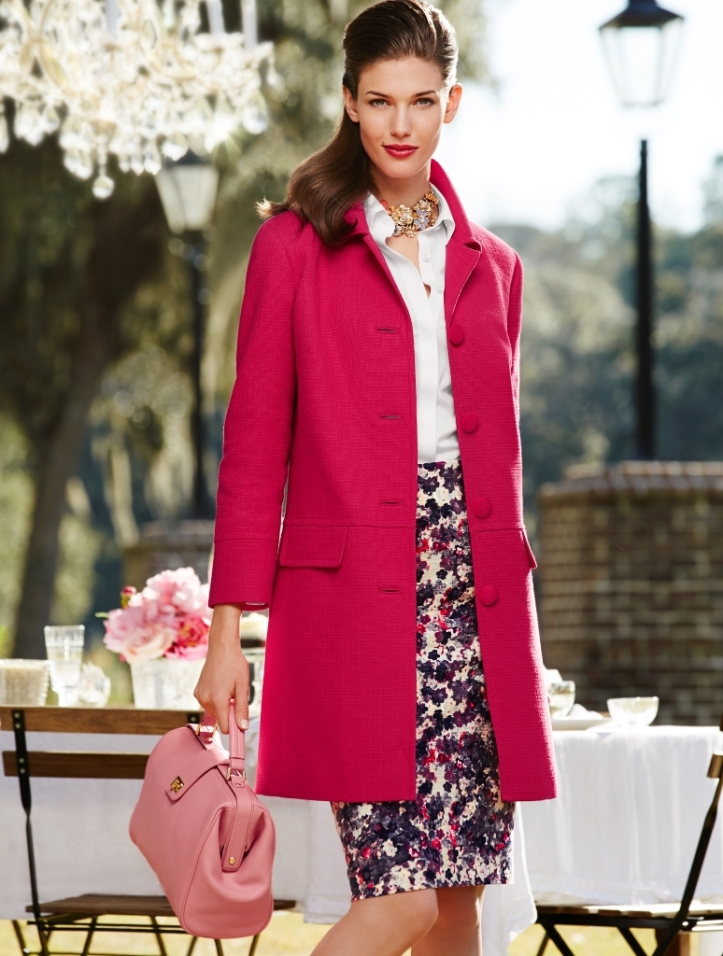 Kendra Spears by Greg Kadel for Talbots March-April 2014