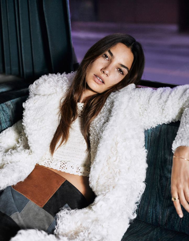 Lily Aldridge by Mark Kean for The Edit by Net-a-Porter August 2015 cover