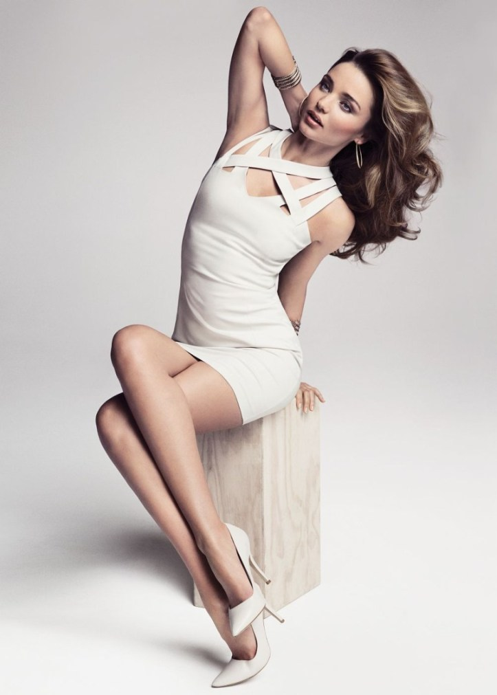 Miranda Kerr fronts Mango Summer 2013 Campaign