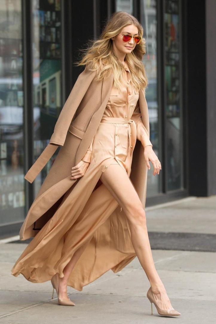 Model Gigi Hadid is seen walking in Soho on December 8, 2015 in New York City (1)