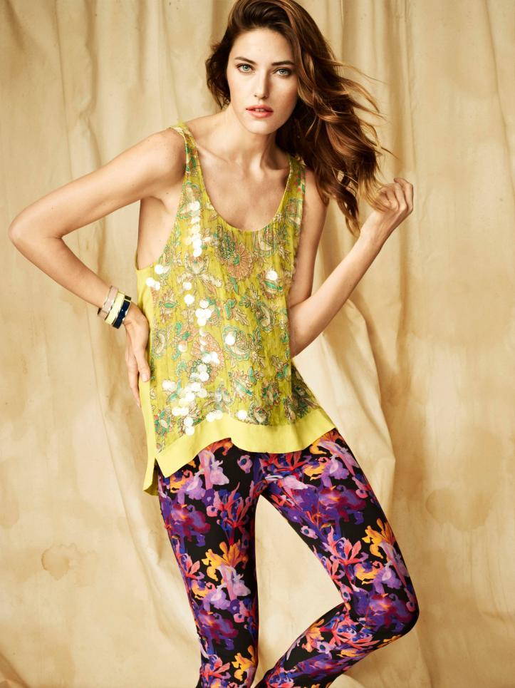 Nadejda Savcova for Monsoon Spring-Summer 2012 Ad Campaign