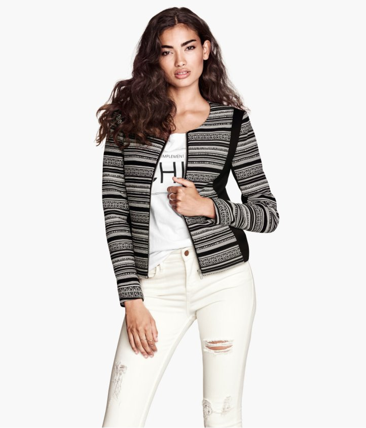 Kelly Gale for H&M UK 2013 Collections