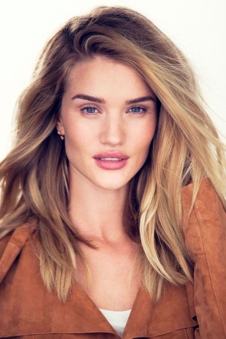 Rosie Huntington-Whiteley by David Bellemere for Glamour UK February 2016
