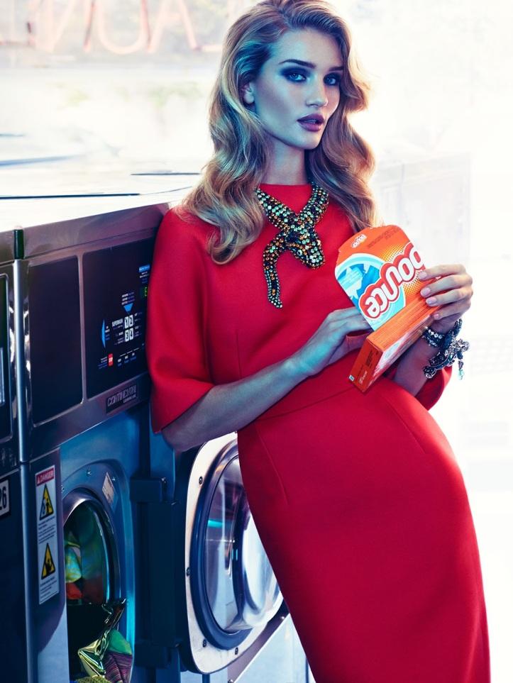 Rosie Huntington-Whiteley By James Macari For Vogue Mexico November 2014