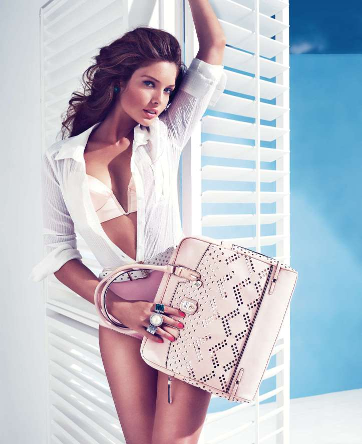 Sandrah Hellberg for Guess Holiday Photoshoot 2013