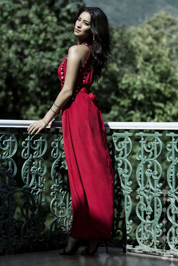 Shay Mitchell by Melinda DiMauro Photoshoot for Raven & Lily Holiday Collection 2015