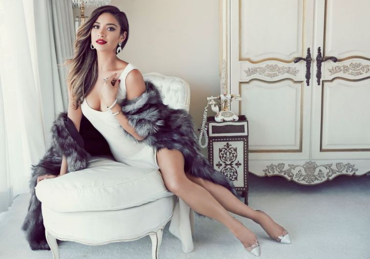 Shay Mitchell for Glamour Mexico's November 2014 issue