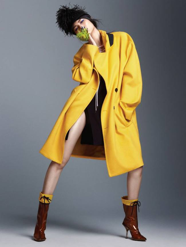Sui He by Trunk Xu for Vogue China September 2014