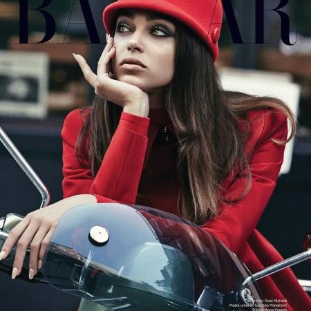 Zhenya Katava by Yossi Michaeli for Harper's Bazaar Serbia February 2016