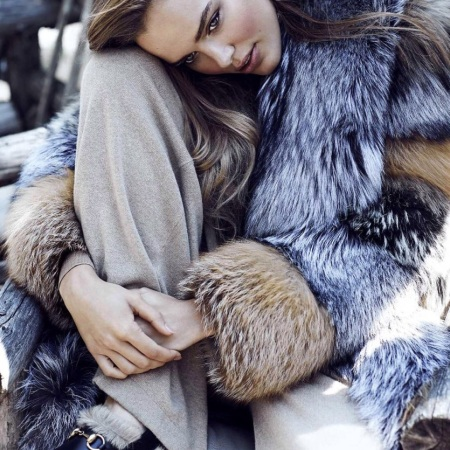 Zosia Nowak by Chris Nicholls for Marie Claire Russia November 2015