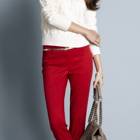 Alejandra Alonso for Ann Taylor Holiday 2011 Look Book Collections