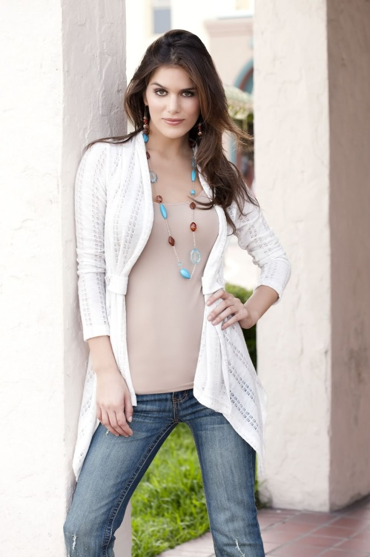 Anahi Gonzales for Body Central 2010 collections