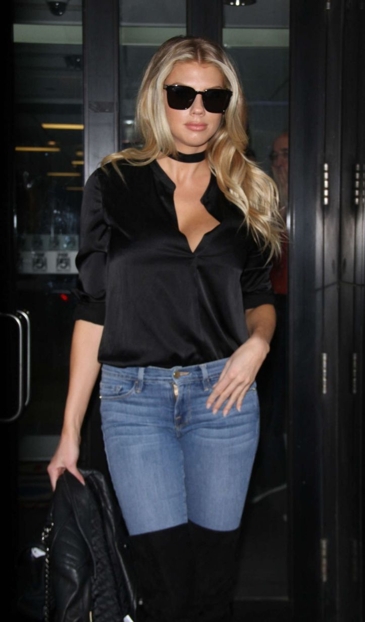 Charlotte McKinney At 'Good Day New York' In NYC