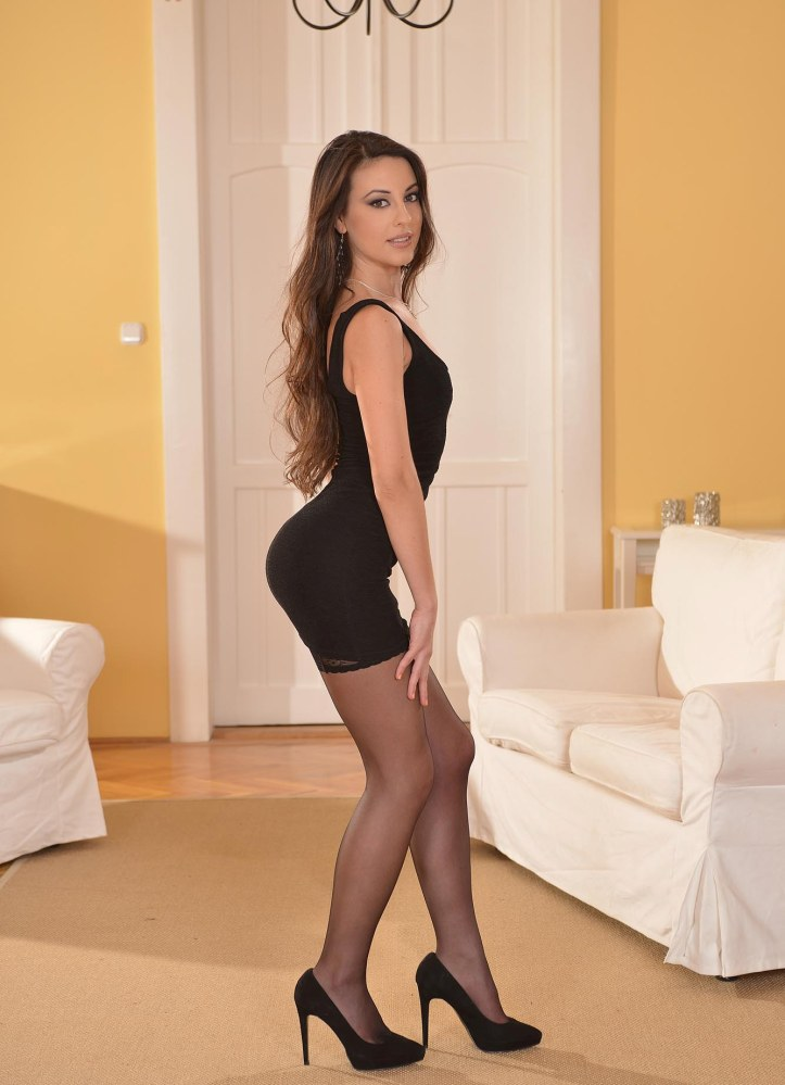 Hot Model Lorena B posing for 1By-Day.com