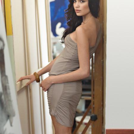 Irina Sharipova for Intimissimi Jersey Spring 2011 Campaign