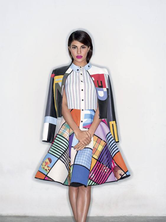Jacqueline Fernandez For ELLE India January 2016