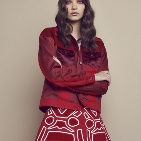 Julia Gubert for Nicola Brindle photo-shoot collections