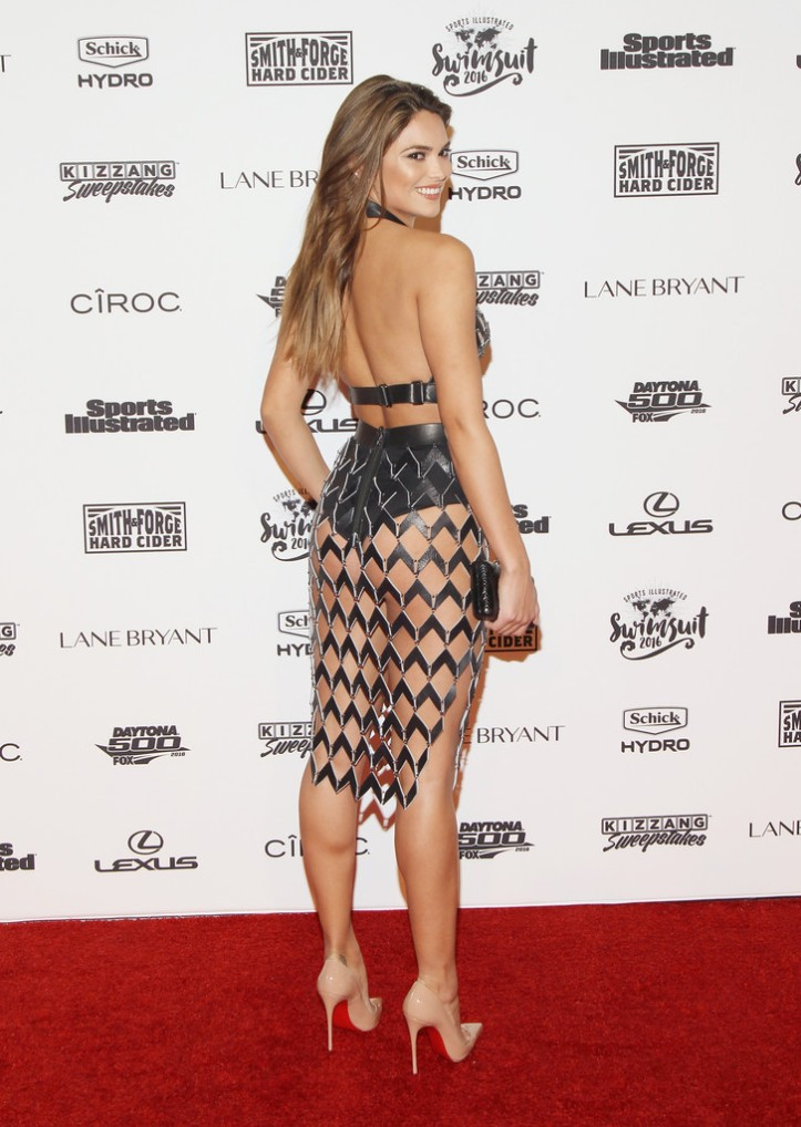 Kyra Santoro at Sports Illustrated Swimsuit 2016 NYC VIP Press Event February 2016