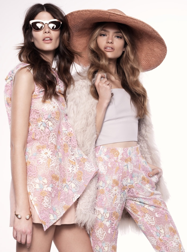 Monica Cima & Anna Guyenz  by Photographer Henryk for Fashion Gone Rogue Exclusive-Good Vibratio
