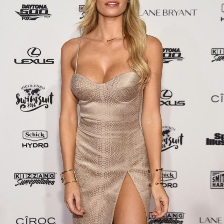 Samantha Hoopes Celebrates the Launch of the 2016 Sports Illustrated Swimsuit Issue