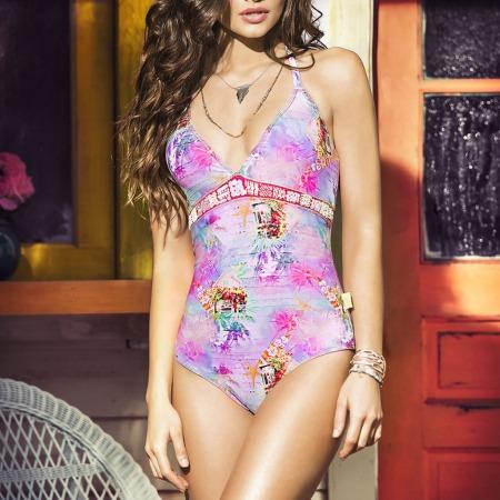Yara Khmidan for Mar de Rosas Swimwear 2016