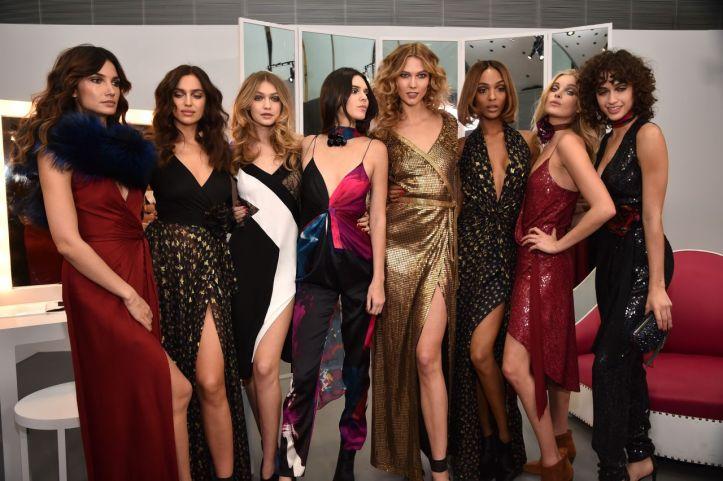 Irina Shayk for Diane Von Furstenberg Show at NYFW February 14 2016